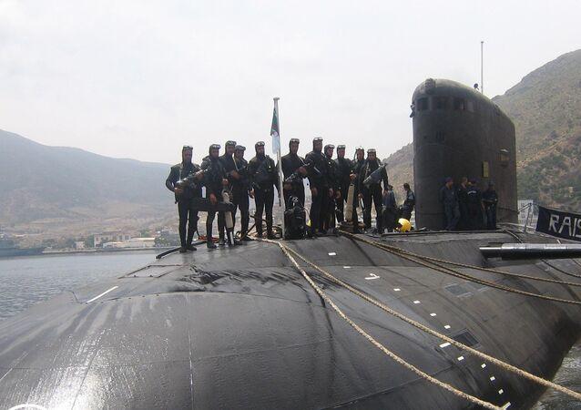 Un sous-marin de la Marine algérienne