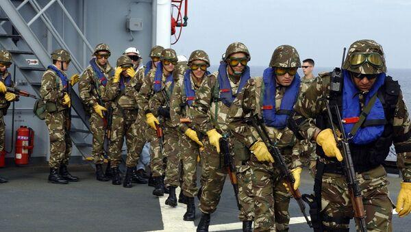 Des élements des forces spéciales algériennes - Sputnik France