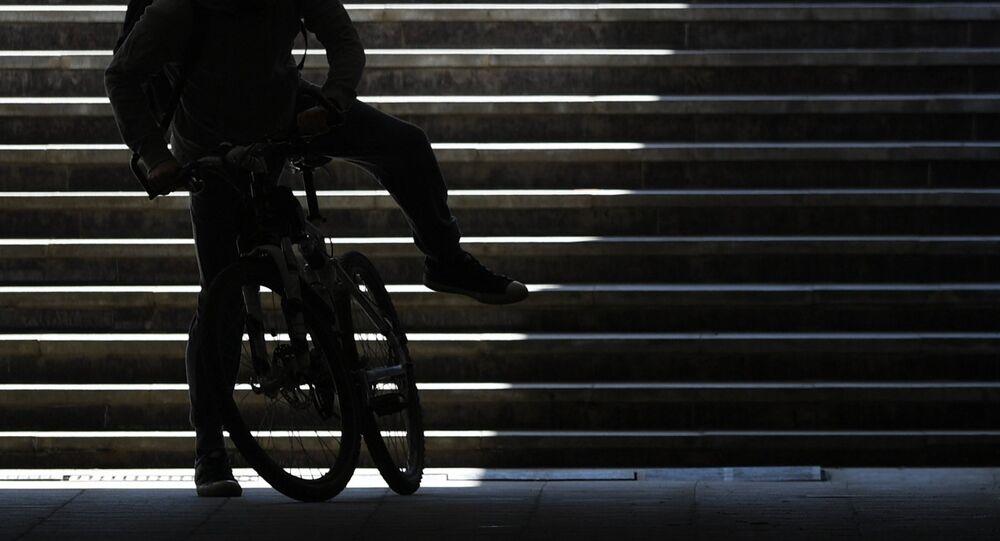 Une bicyclette