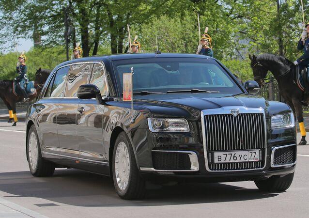 La limousine Aurus du Président russe