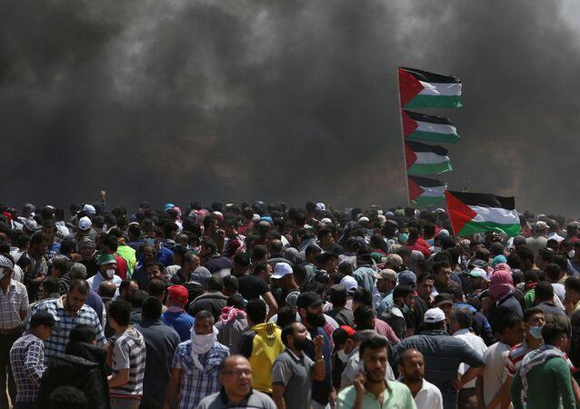 Situation à Gaza, image d'illustration
