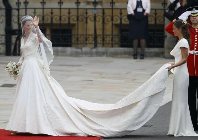 Robes de mariée de la famille royale britannique