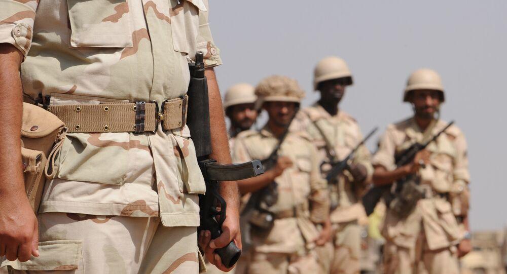 Soldats saoudiens, Jizan