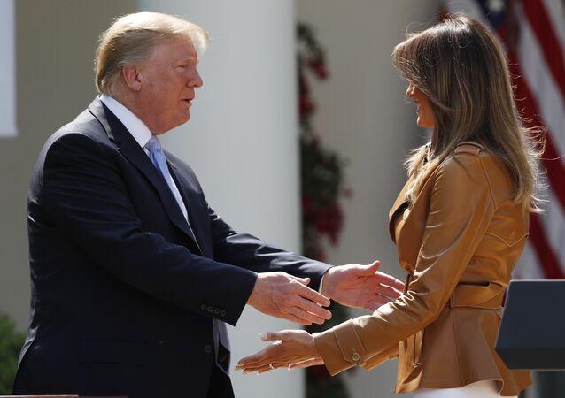 Melania et Donald Trump