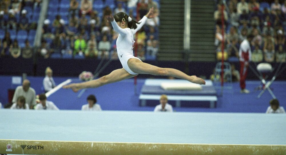 Une gymnaste (photo d'illustration)