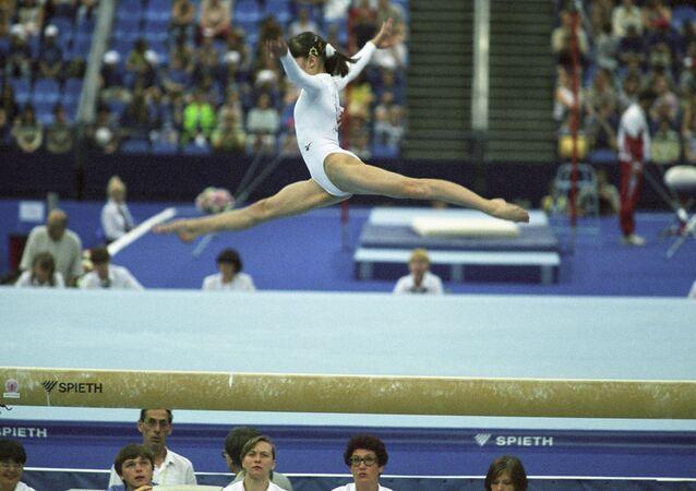 Une gymnaste (photo d'illustration)