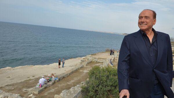 Silvio Berlusconi en Crimée - Sputnik France