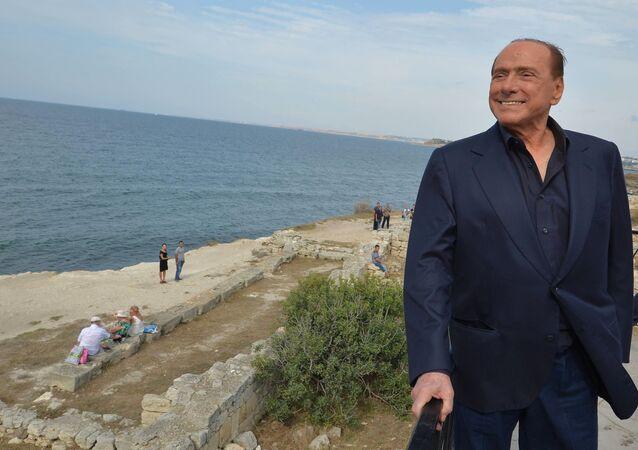Silvio Berlusconi en Crimée