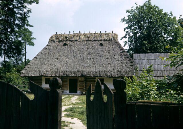 Une maison ukrainienne (image d'illustration)