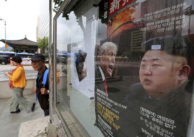 The NYT révèle les craintes de Trump avant sa rencontre avec Kim Jong-un