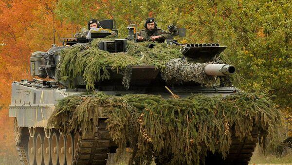 Kampfpanzer Leopard 2 - Sputnik France