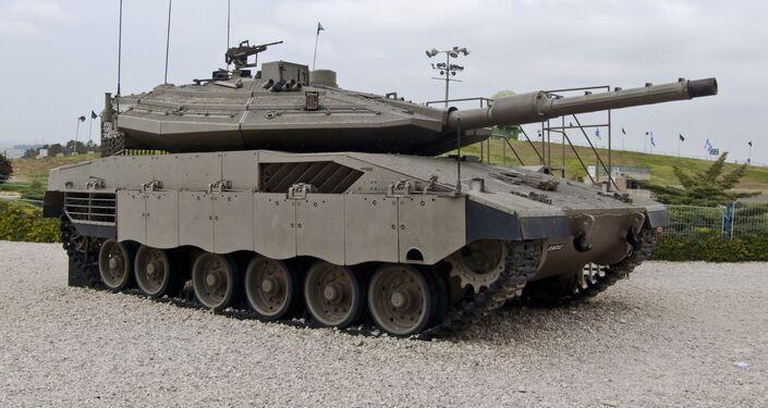 Merkava Mk IV.