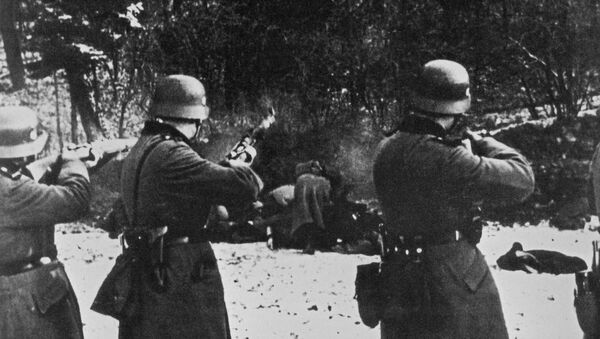 La Wehrmacht fusille des Polonais en 1939 - Sputnik France
