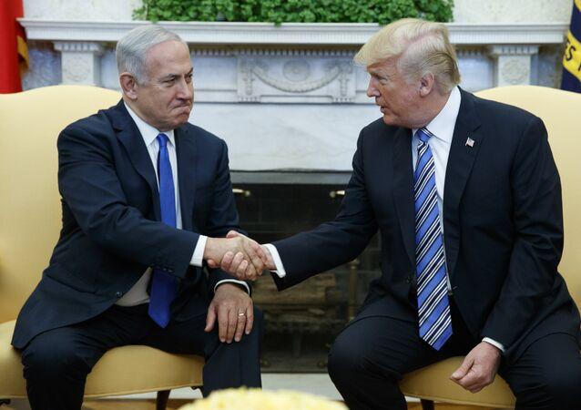 Benyamin Netanyahou et Donald Trump
