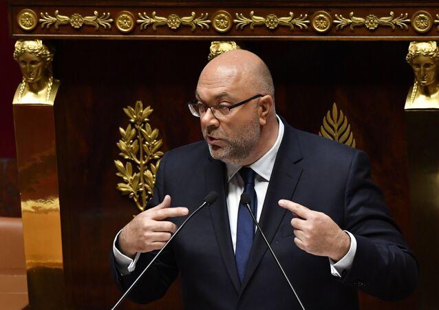 Le ministre de l'Agriculture Stéphane Travert