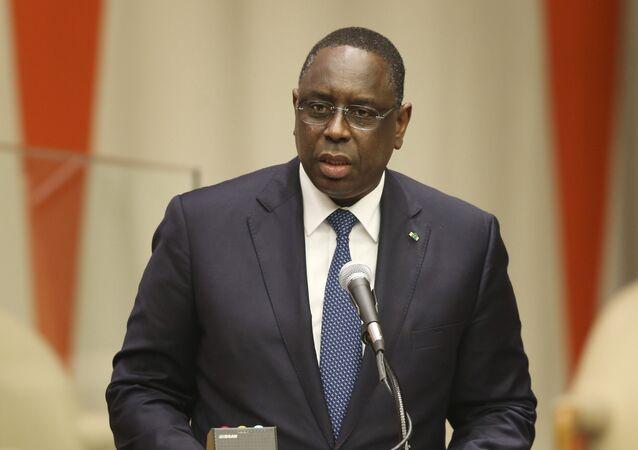 Macky Sall, Président sénégalais sortant