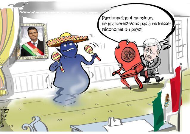Le candidat à la présidentielle mexicaine a peur des mauvais esprits
