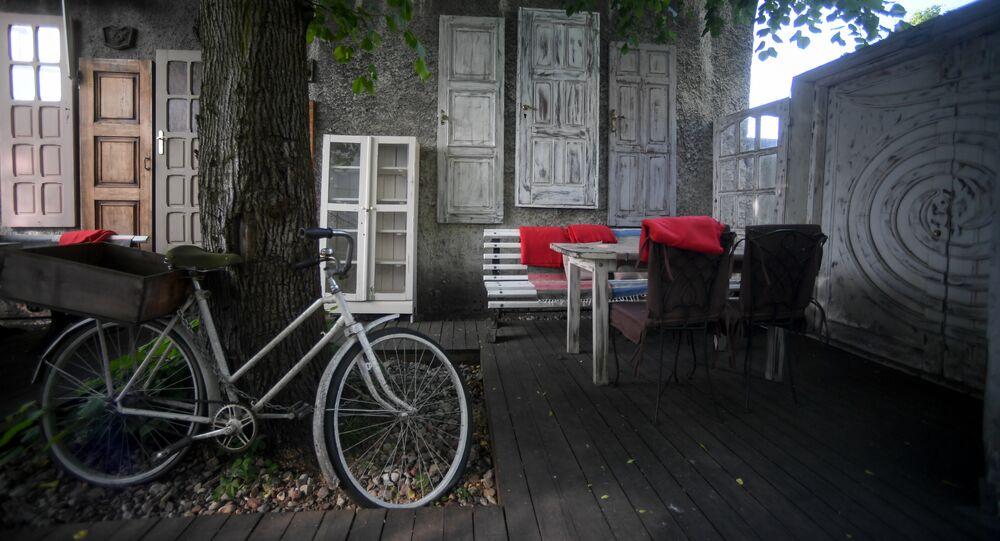 Летняя веранда ресторана Чайковский в Калининграде