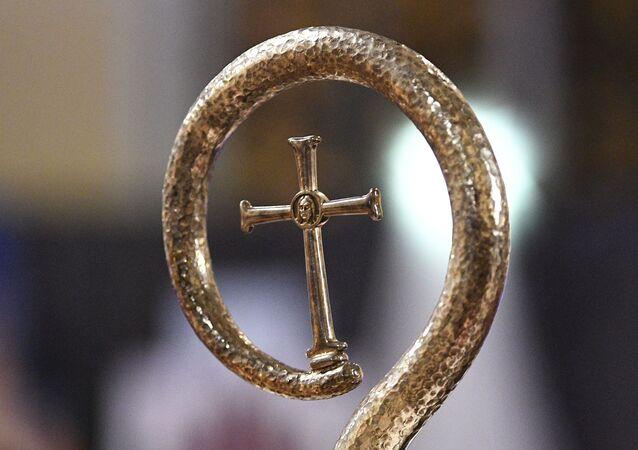une Croix catholique