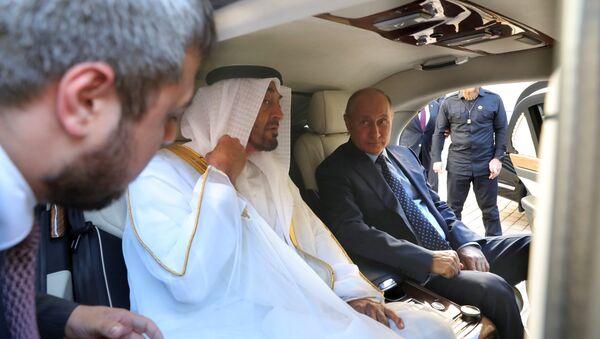Президент РФ В. Путин встретился с наследным принцем Абу-Даби М. Аль Нахайяном - Sputnik France