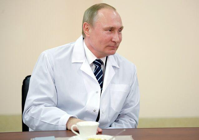 Vladimir Poutine (image d'illustration)
