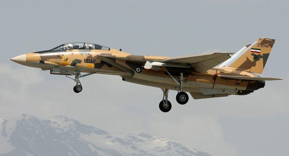 Un F-14A iranien