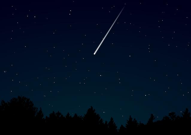 Une météorite