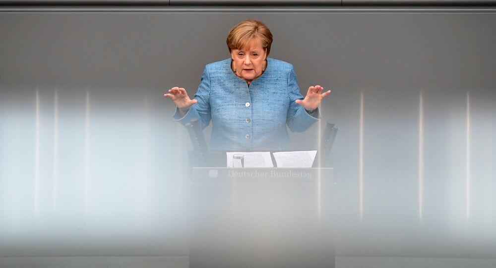 Angela Merkel. Photo d'archive