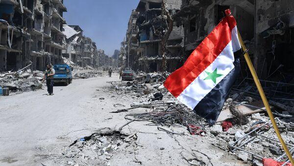 L'armée syrienne a libéré le camp de réfugiés palestiniens de Yarmouk - Sputnik France