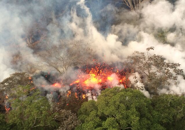 Le volcan Kilauea