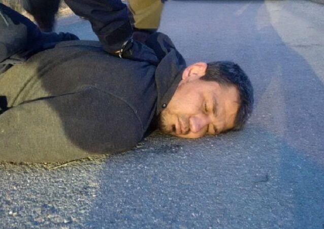Arrestation de Rakhmat Akilov, auteur de l'attentat du 7 avril 2017 à Stockholm