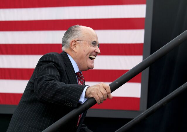 Rudy Giuliani, avocat de Donald Trump
