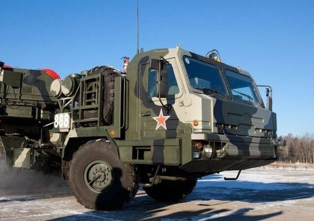 Raketen- und Luftabwehrsystem S-500 Prometheus