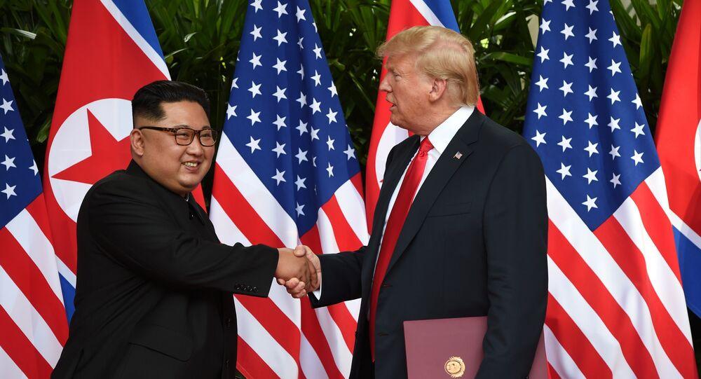 Donald Trump et  Kim Jong-Un
