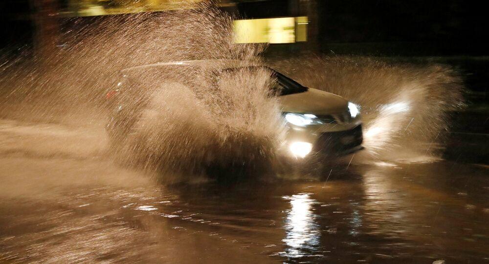 Pluies torrentielles à Lausanne