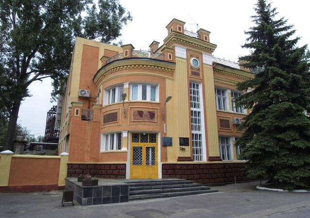 Usine de phénol à Toretsk