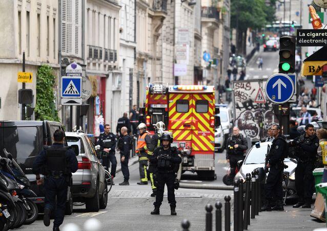La police à Paris