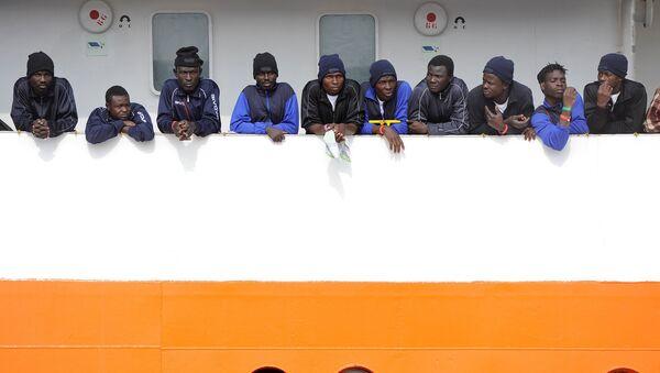 Migrants en Italie - Sputnik France