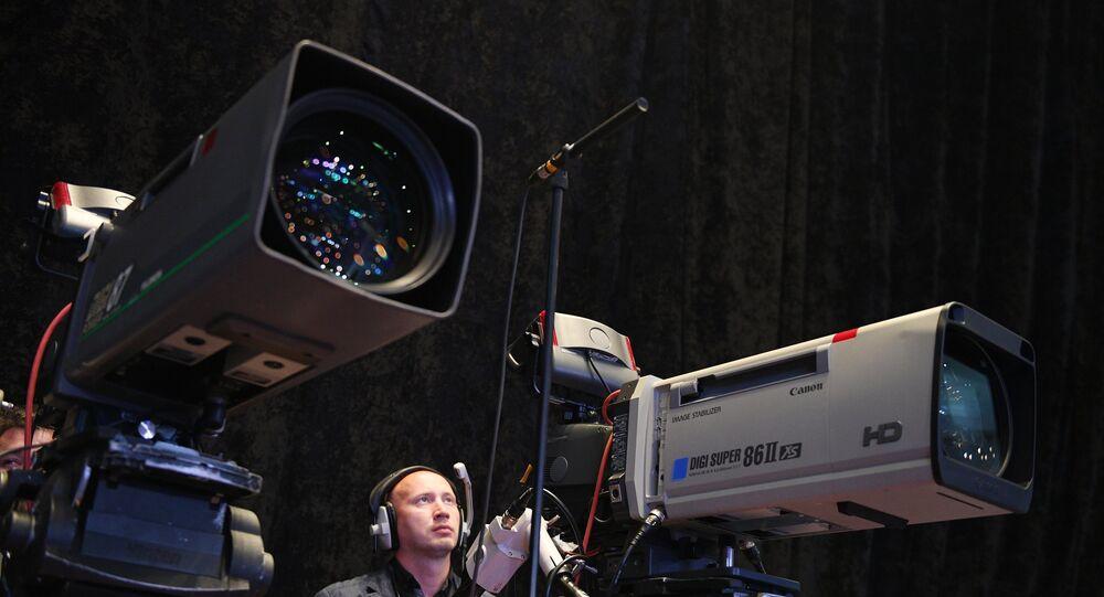 Caméras de télévision (image d'illustration)