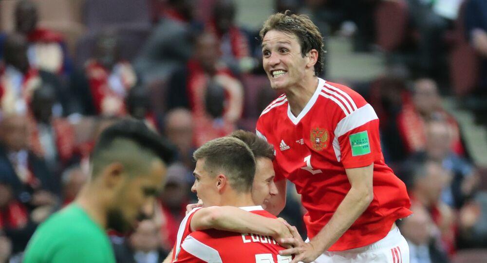 La Russie remporte le premier match du Mondial 2018