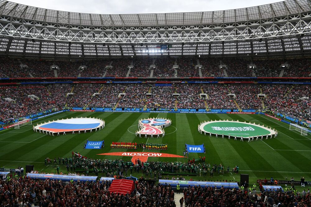 Trente-deux équipes nationales participent la Coupe du Monde de football 2018.
