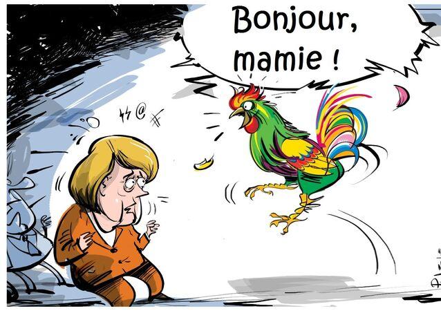 Macron apprendra à l'UE à parler français.