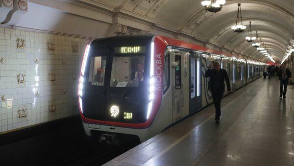 La rame Moskva dans le métro de Moscou - Sputnik France