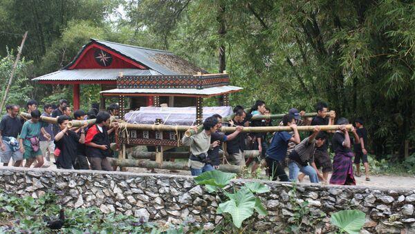 La procession funéraire à Tana Toraja (image d'illustration) - Sputnik France