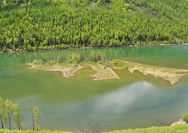 Le lac Kanas (Chine)