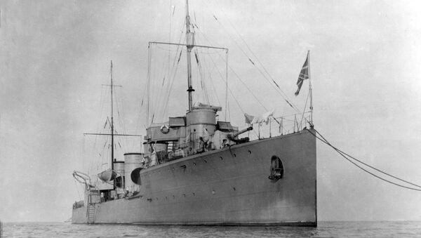 Le destroyer russe Novik - Sputnik France