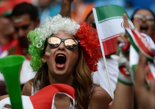 Les supporteurs iraniens