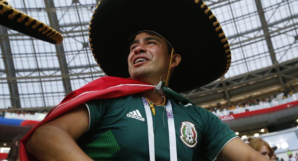 Un fan mexicain