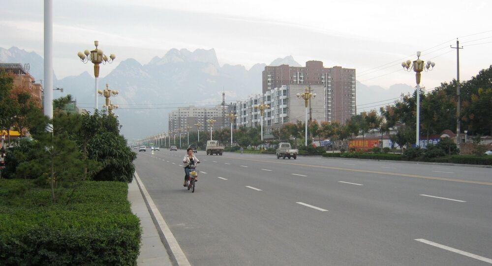 La ville de Huayin (Chine)
