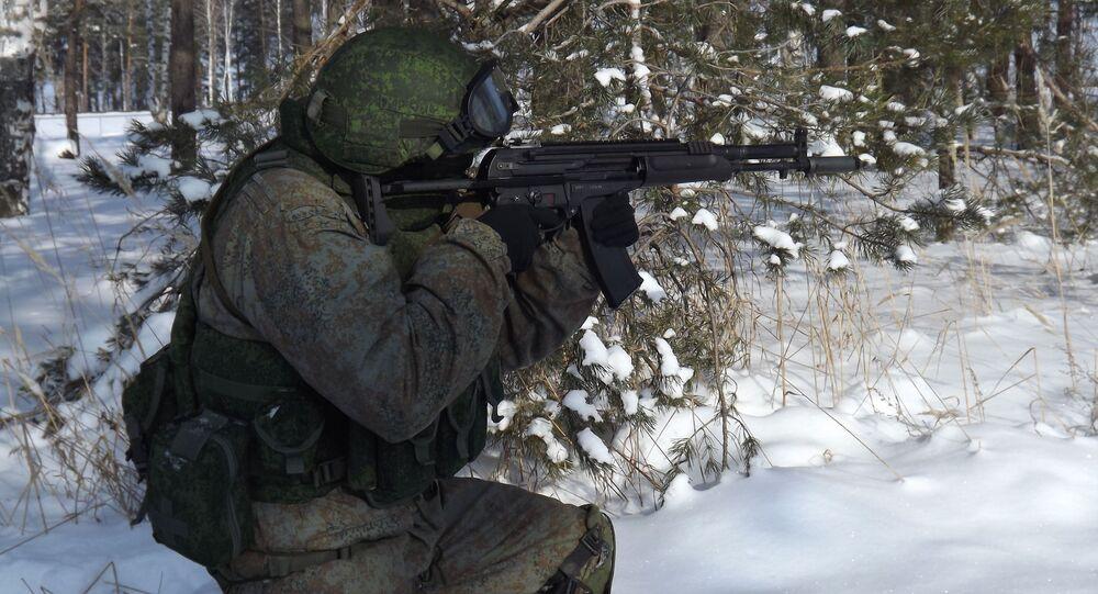 Fusil d'assaut russe A-545